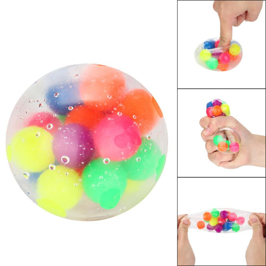 Non-toxic Color Sensory Stress Ball/Pressure Reliever