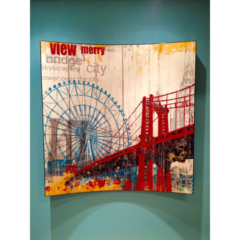 "Quadro Decorativo ""City View'"