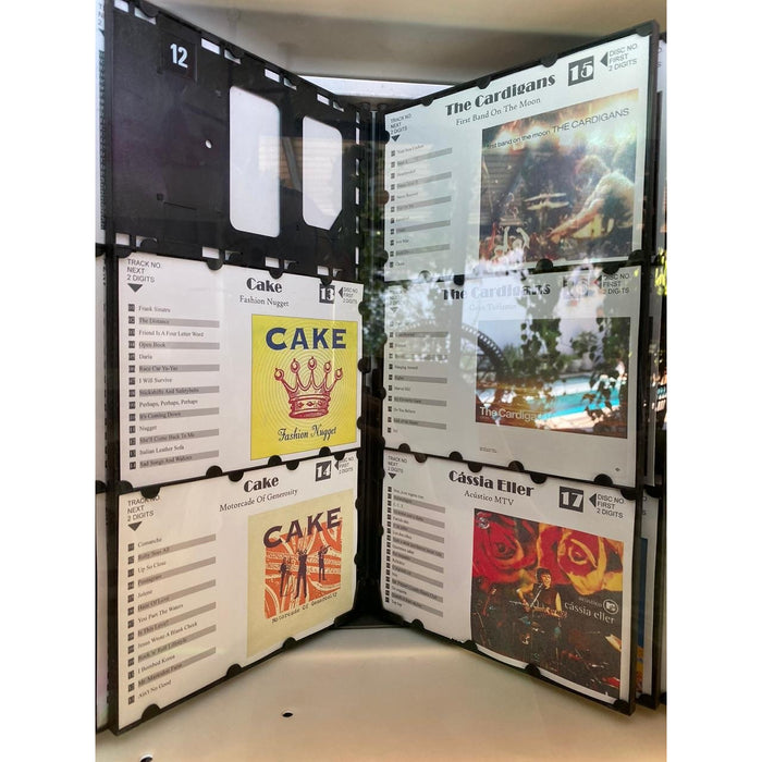 Rowe CD Berkeley Wallmount - Jukebox (100 Cds)