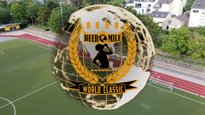 Americans Chris Robertson and Allison Grace Morgan Win 2020 Beer Mile World Classic In Record Fashion