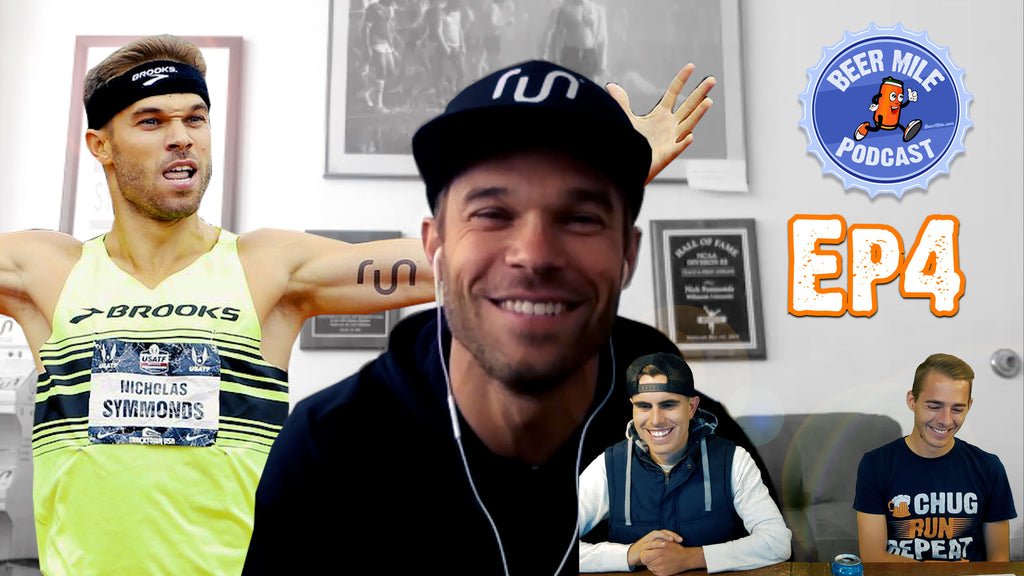 Nick Symmonds on the Beer Mile Podcast