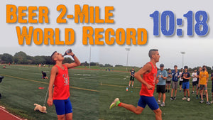 Beer 2-Mile World Record Shattered by Chris Robertson in 10:18