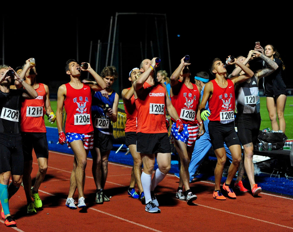The 2020 Beer Mile World Championship Is Going Virtual