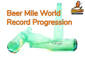 Beer Mile World Record Progression
