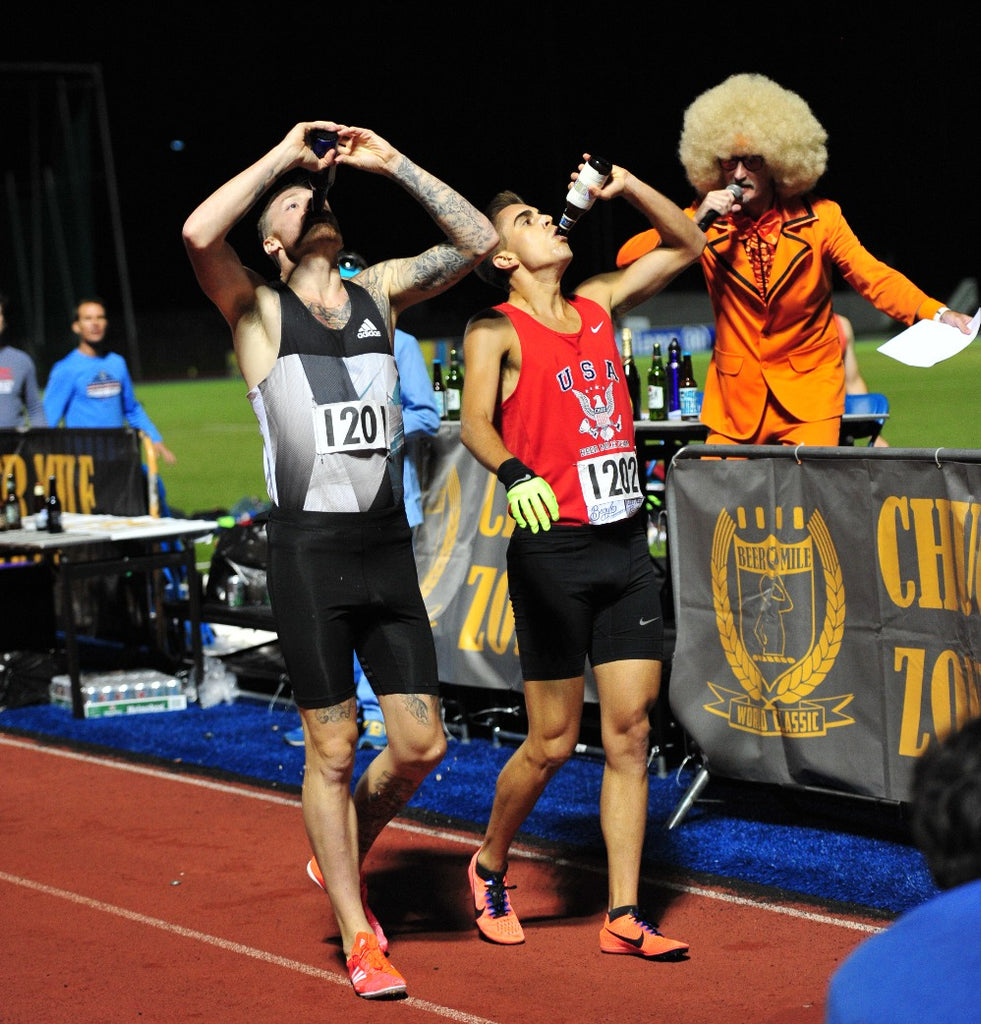 Training for the Beer Mile with American Record Holder Chris Robertson
