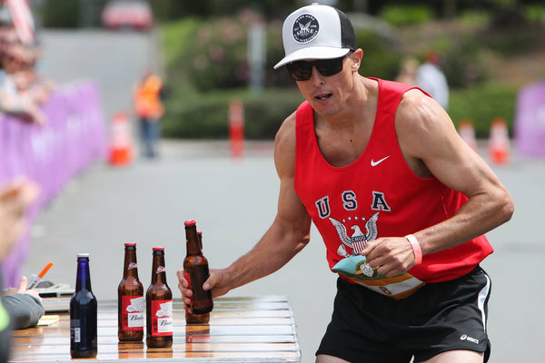 Brandon Shirck Beer Mile Team USA
