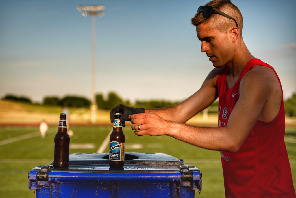 Chris Robertson American Record Beer Mile