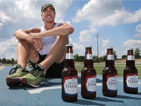 Corey Bellemore Beer Mile World Record Holder