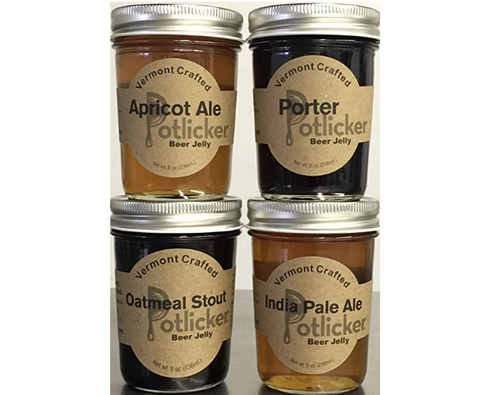 Craft Beer Jelly - IPA, Porter, Apricot Ale, Oatmeal Stout