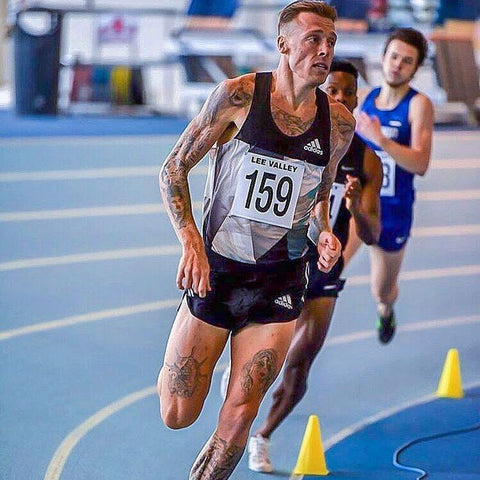 Dale Clutterbuck Beer Mile European Record Holder