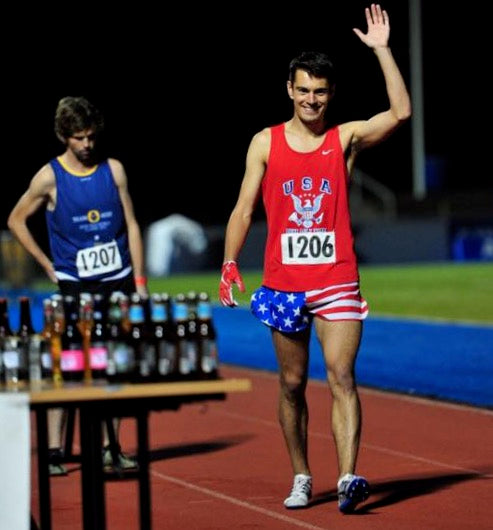 Garrett Cullen Beer Mile Team USA