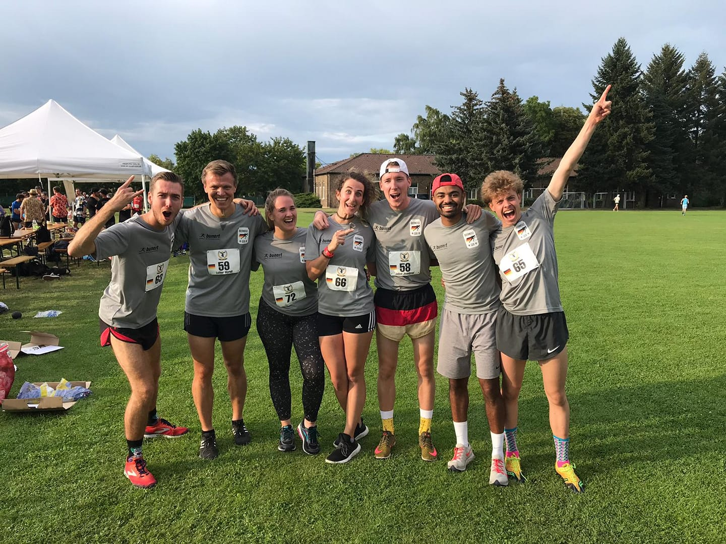 German Beer Mile Team