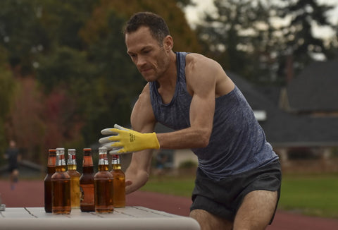Jim Finlayson beer mile