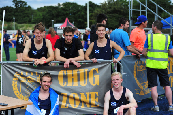 Scotland Beer Mile Team
