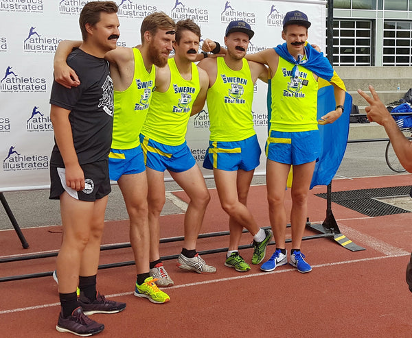 Sweden Beer Mile Team