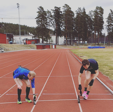 Sweden Beer Mile Team Training 2020
