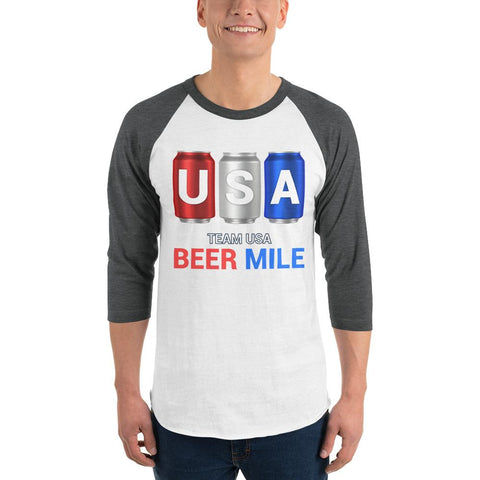 Team USA Beer Mile Shirt