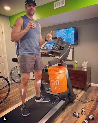 Treadmill Beer Mile