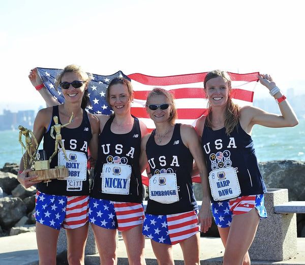 USA Women Win Beer Mile World Title 2015
