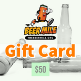 Gift Card-Gift Card-The Beer Mile-$50.00-The Beer Mile