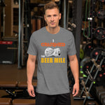 I Crushed the Beer Mile T-Shirt-Shirts-The Beer Mile-Deep Heather-XS-The Beer Mile
