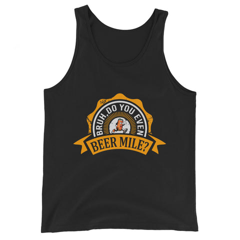 Bruh, Do You Even Beer Mile? Tank-Tanks-The Beer Mile-Black-XS-The Beer Mile