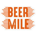 Beer Mile Sticker-Stickers-The Beer Mile-5.5x5.5-The Beer Mile