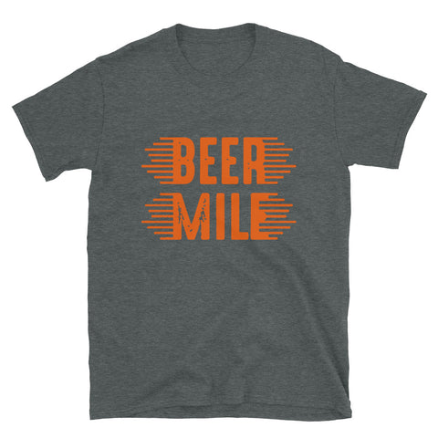 Beer Mile T-Shirt-Shirts-The Beer Mile-Dark Heather-S-The Beer Mile