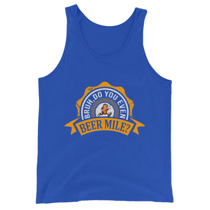 Bruh, Do You Even Beer Mile? Tank-Tanks-The Beer Mile-True Royal-XS-The Beer Mile