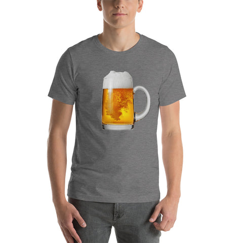 Beer Stein T-Shirt-Shirts-The Beer Mile-Deep Heather-XS-The Beer Mile