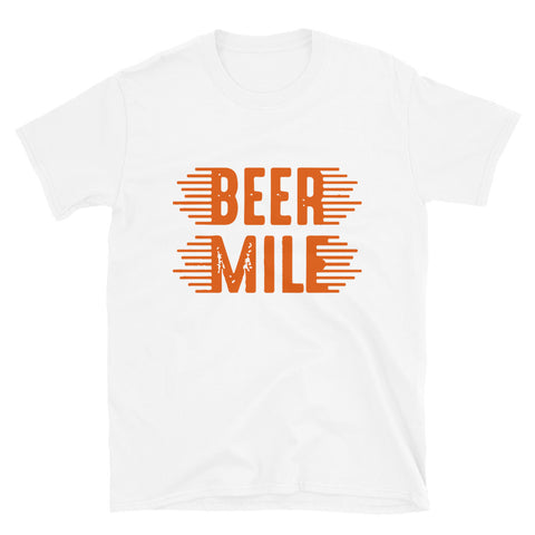 Beer Mile T-Shirt-Shirts-The Beer Mile-White-S-The Beer Mile