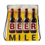 Beer Mile Drawstring Bag-Bags-The Beer Mile-The Beer Mile