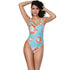 Women's One piece Swimsuits Sexy Quick Dry Nylon Swimwear SW7039