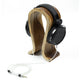 Natural wood Headphone Stand