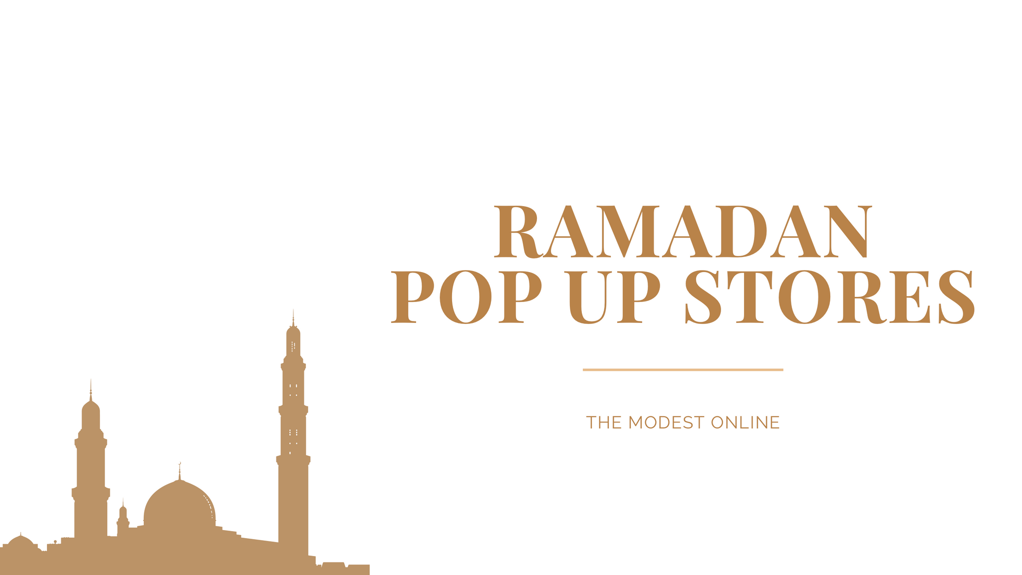 Ramadan Pop Up Stores Helsinki The Modest Online
