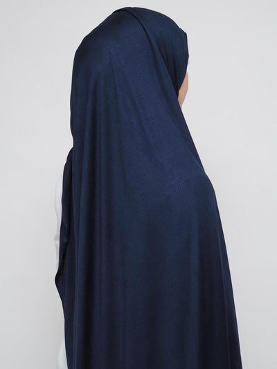 Jersey Hijab - Dark Blue