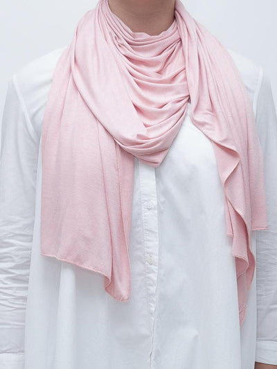 Jersey Hijab - Soft Rose