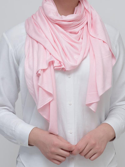 Pink Jersey Scarf