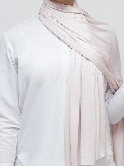 Jersey Hijab - Light Pink