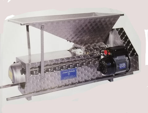 Stainless Steel Crusher/ Destemmer Motorized w/ Small Hopper