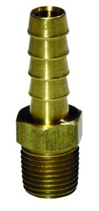 "1/4"" HOSE BARBED w/MALE NPT"