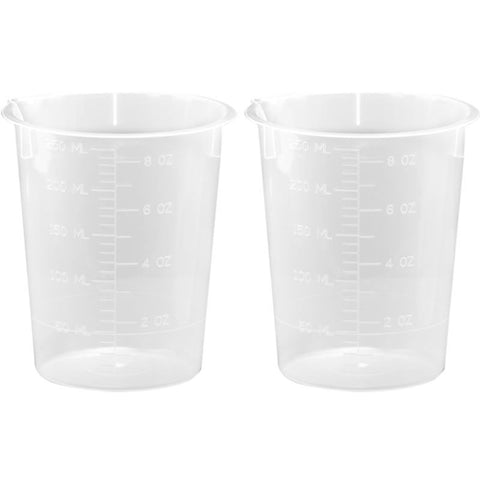 PLASTIC BEAKERS