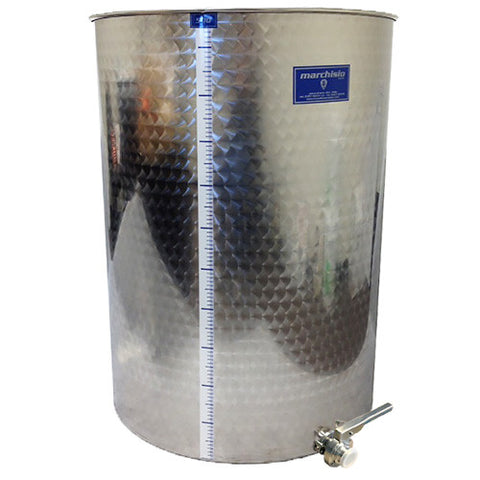 Stainless Flat Bottom Variable Capacity Tanks