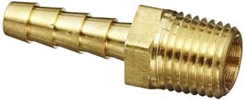 BRASS HOSE BARBED