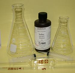 SO2 IODINE METHOD ASS. KIT