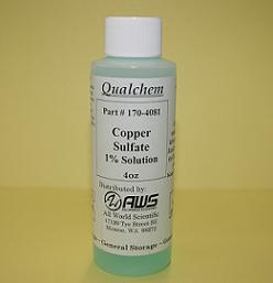 COPPER SULFATE (VARIOUS SOLUTIONS)