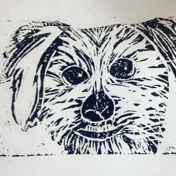Print Your Pet Block Printing Workshop 3/5/2017
