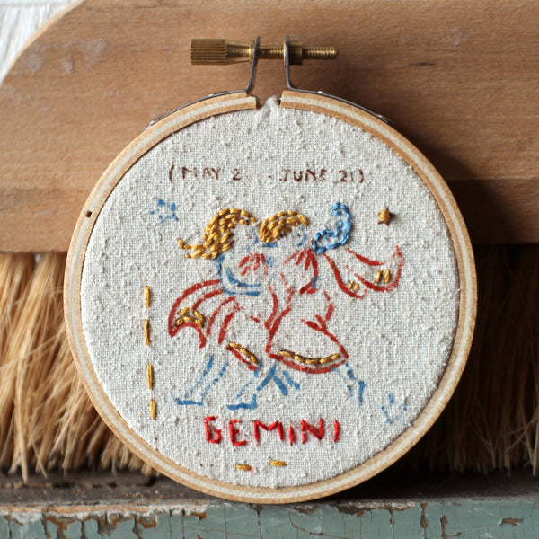 Astrological Embroidery