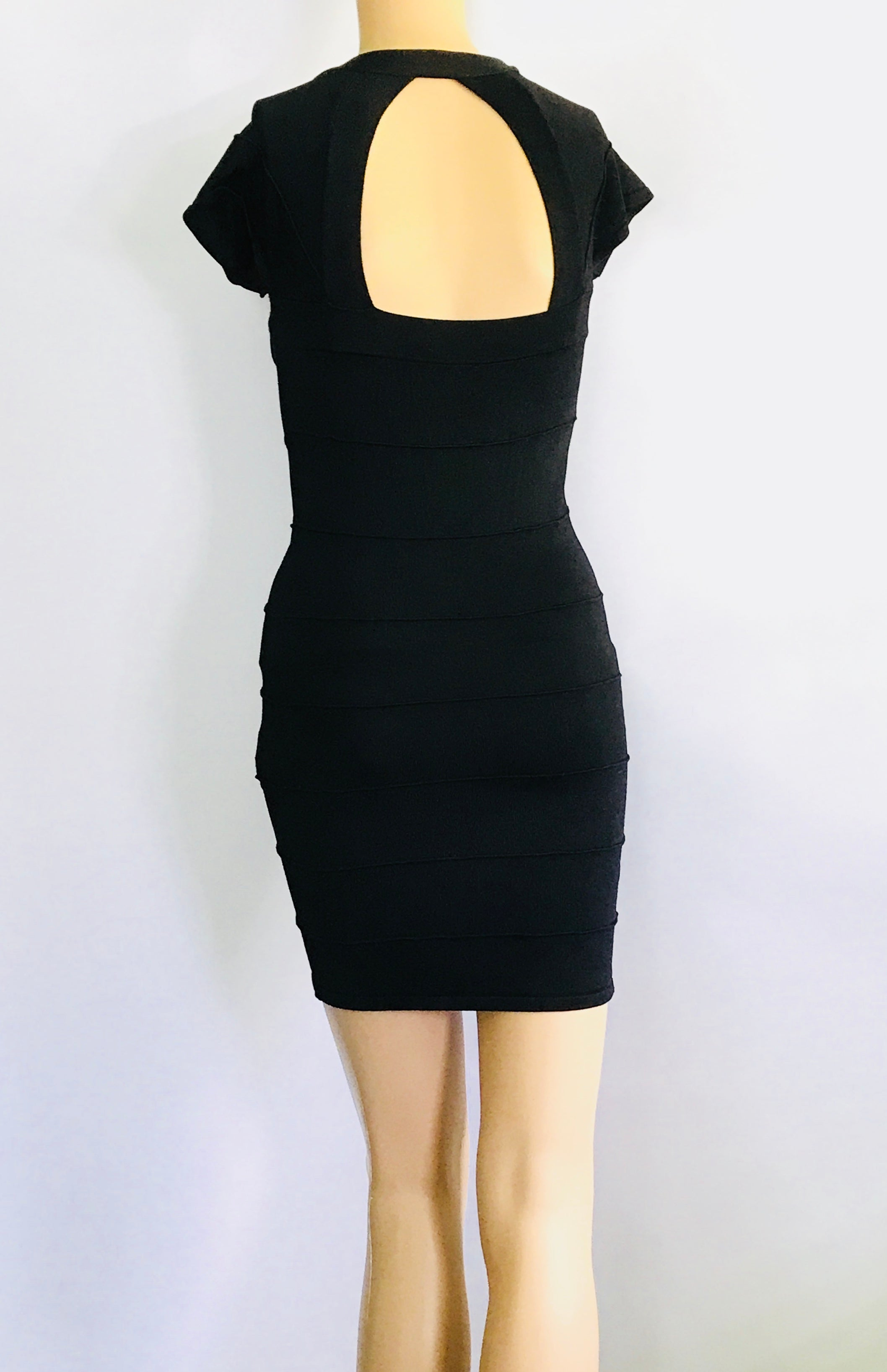Black Mini Dress by XXI (S)