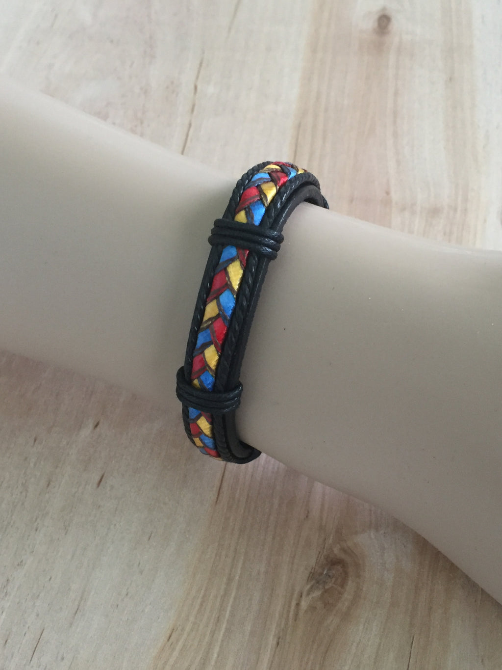 Multi-Color Unisex Casual Fashion Leather Bracelet
